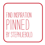 Find inspiration pinned by Stephanie Liebold at pinterest.com/stephliebold