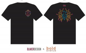 Ignite t-shirt design