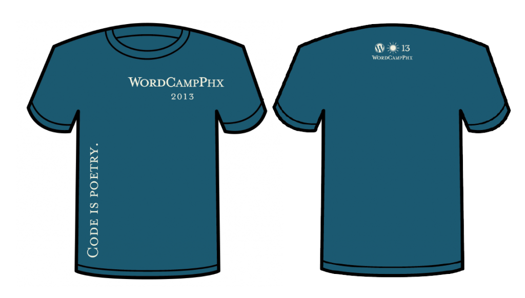 Original WCPHX t-shirt design.