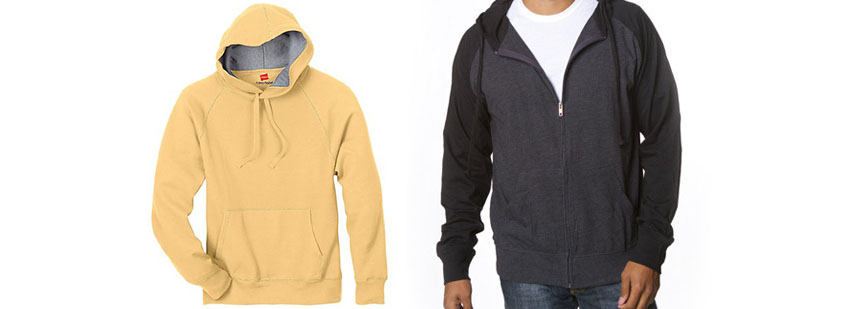 2 New Lightweight Hoodies